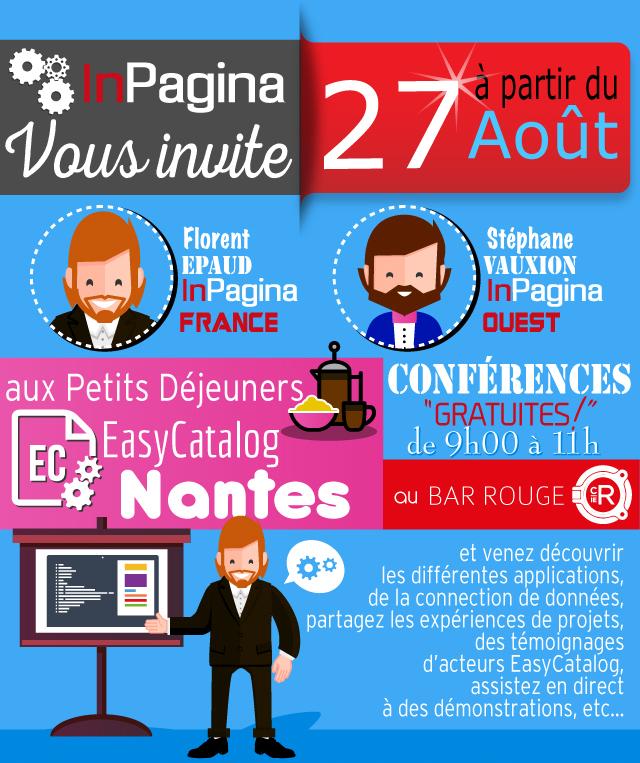 Inpagina vous invite à découvrir l'outil Easycatalog à Nantes